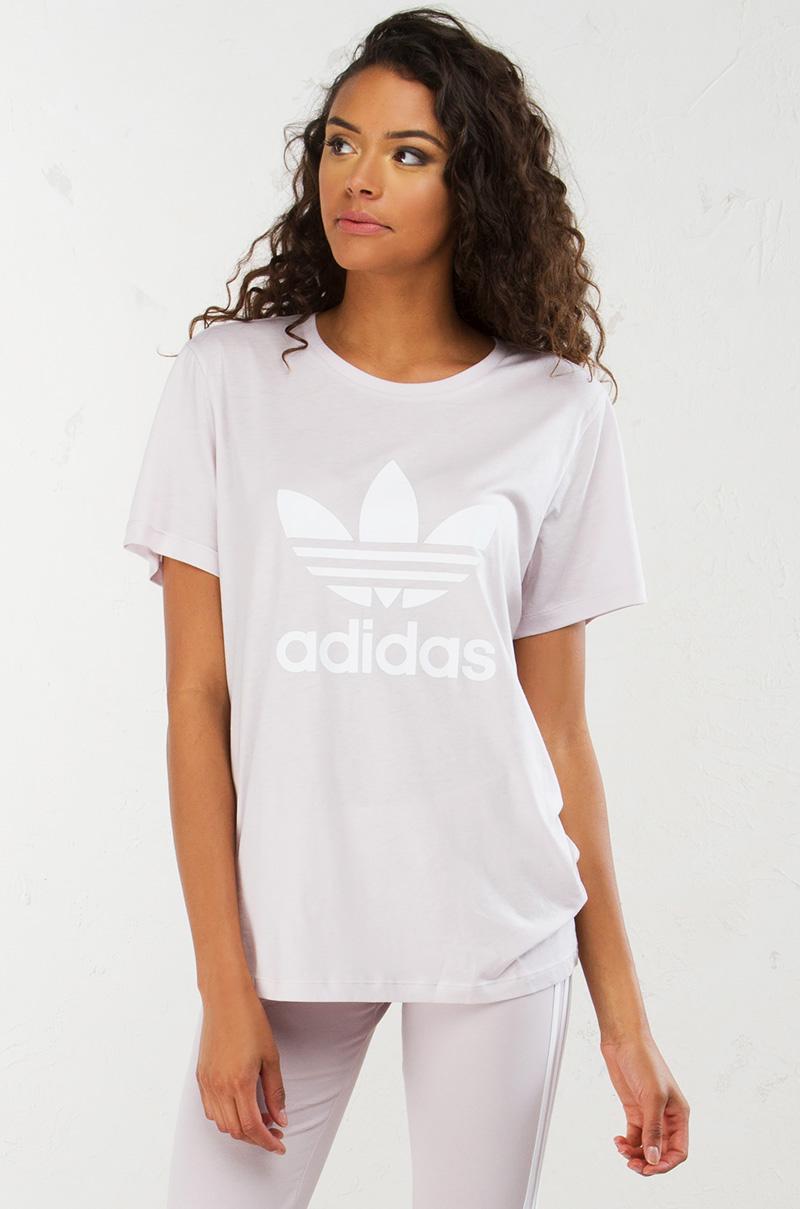 Adidas bf trefoil tee icepur 1