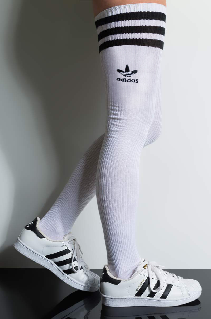 adidas Women's Knit Thigh High Sock in