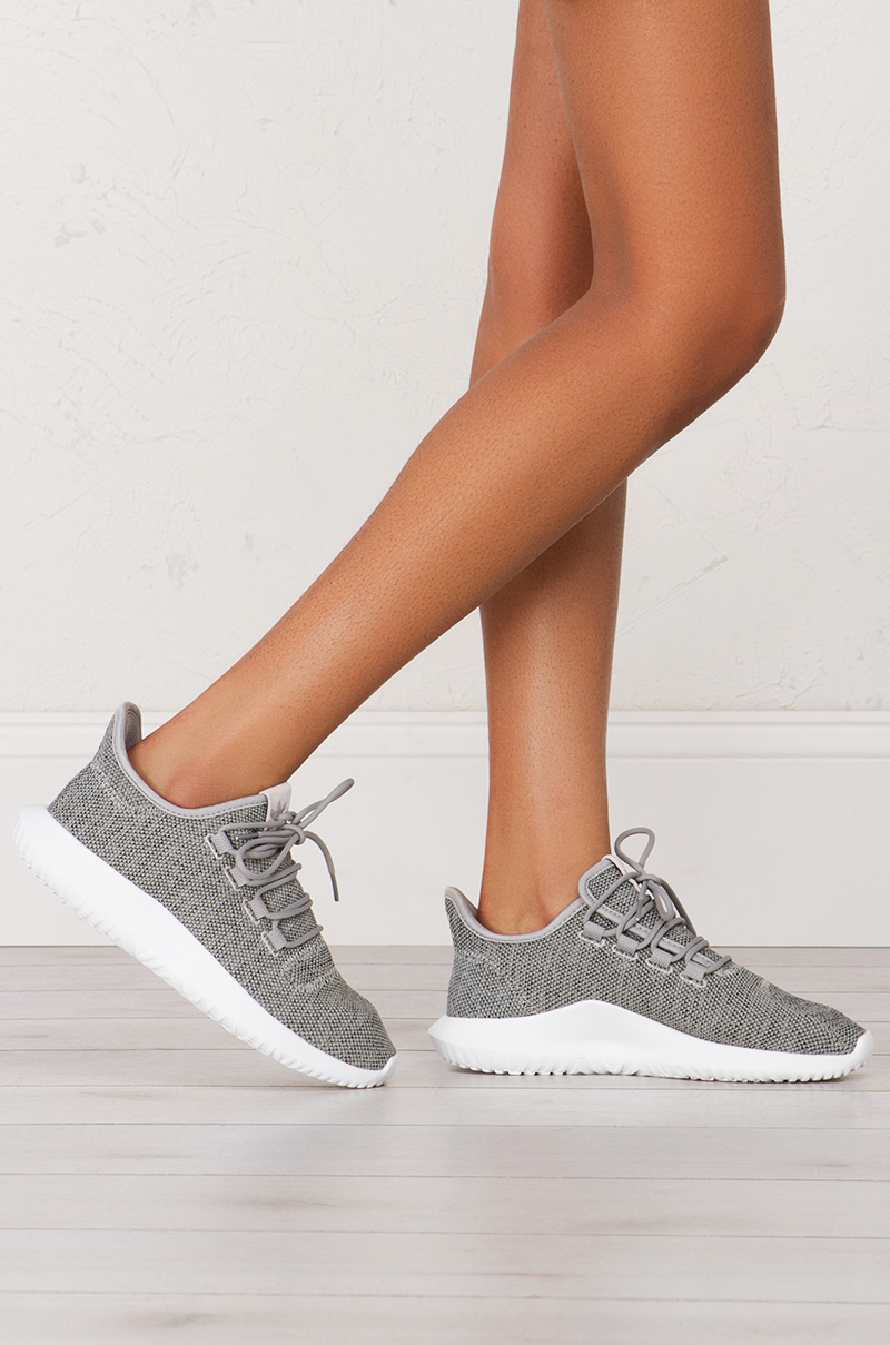 Adidas Tubular Shadow Sneakers in Grey Granite White