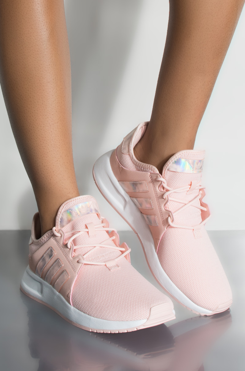 b4ff86d9018 adidas Womens X-PLR Sneaker in Pink White White
