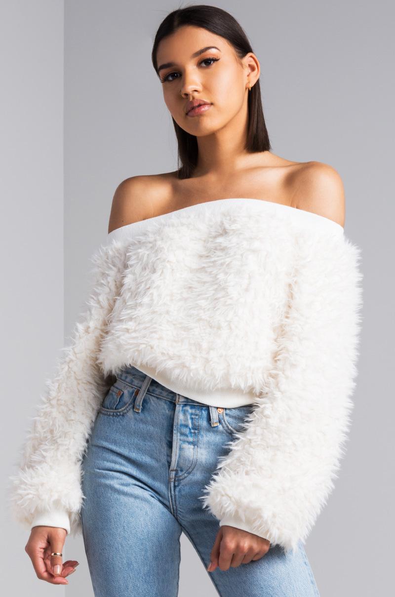 Men White Sweater