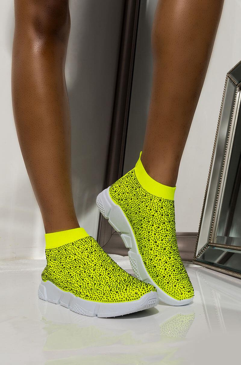 Cut Sock Chunky Sole Sneaker