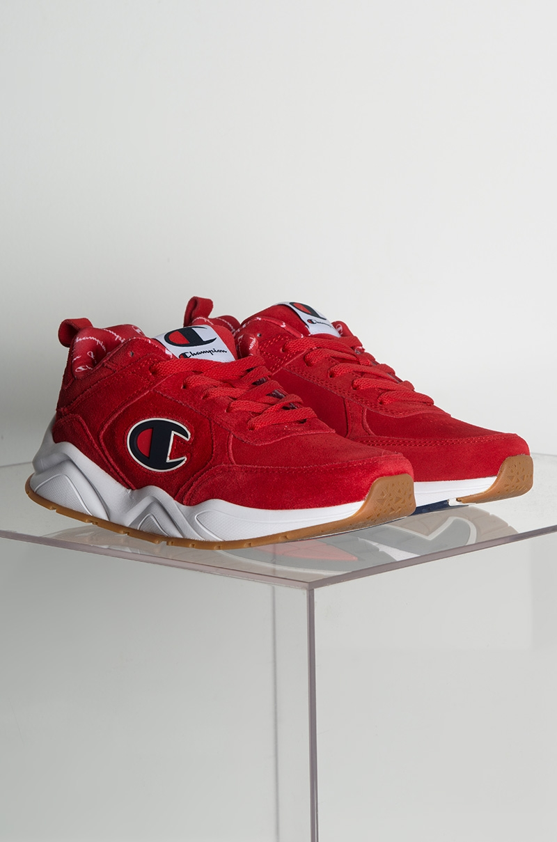 e9e58d8a715 Reebok Leather Low Top Sneaker in Red