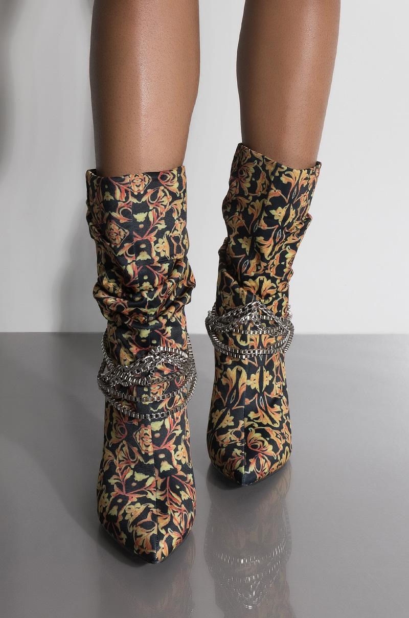 2efb742d2208 Cape Robbin Fabric High Stiletto Heel Pointed Peep Toe Stretchy ...