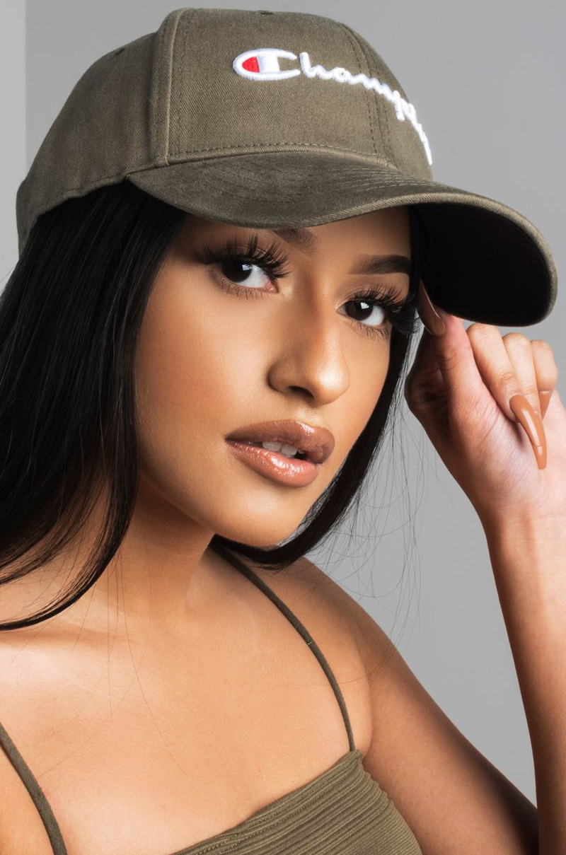 237fcbb2e3e70 Champion Women s Twill Hat in Black