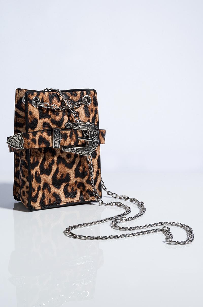 Charli Leopard Bag by Akira