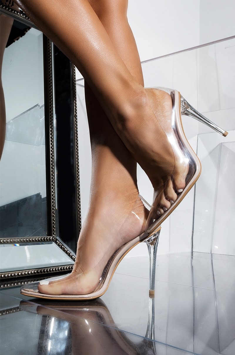 Clear PVC Pumps