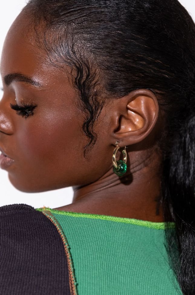 Side View A Kiss To Build A Dream Earring
