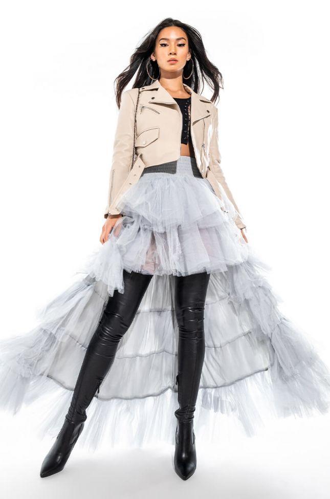 Extra View Ammo X Akira Awards Show Maxi Skirt