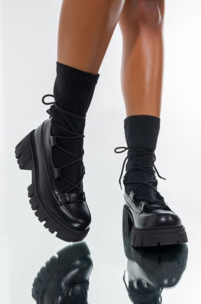 AZALEA WANG WANNA GIVE IT TO YOU CHUNKY BOOTIE IN BLACK