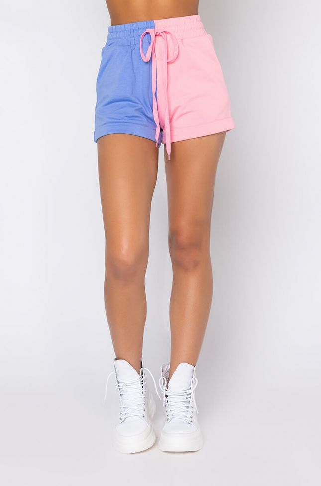 Front View Better Than The Rest Shorts in Pink Multi