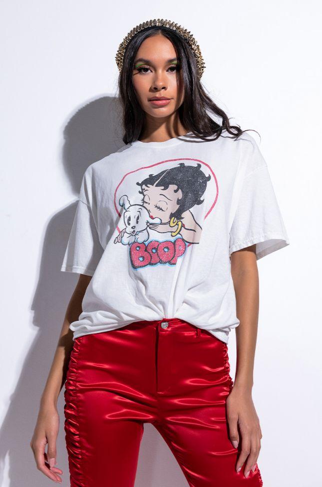 BETTY BOOP T SHIRT DRESS