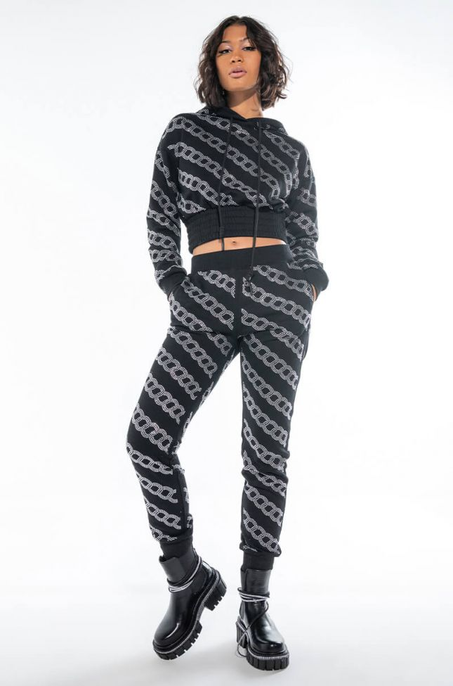 Full View Chained Down Sweatpants