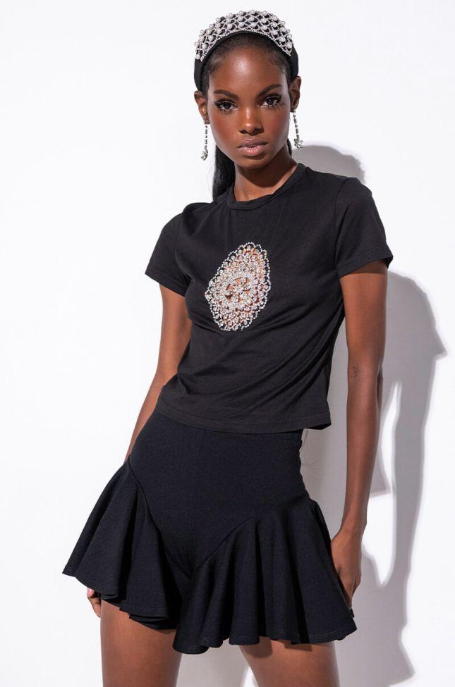 Full View Charming Ruffle Fashion Shorts