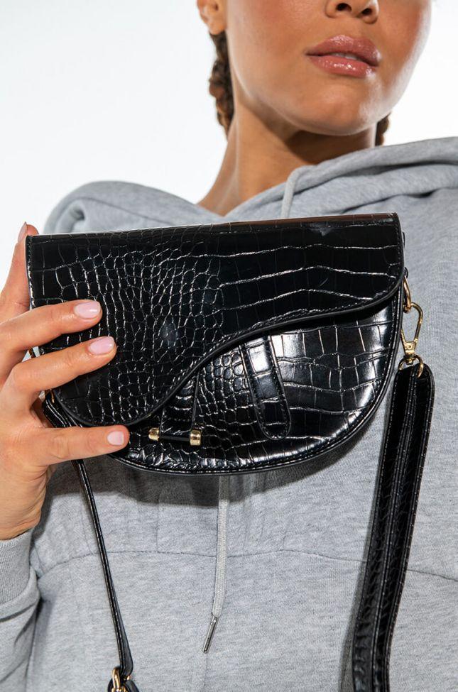 Front View Croc Paris Bag