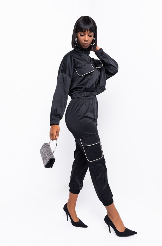 Full View Done With It Jogger Pant in Black