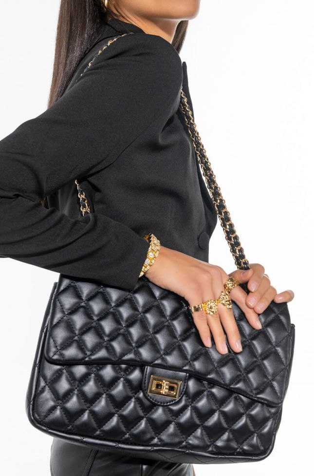 ELITE VIBES QUILTED PURSE