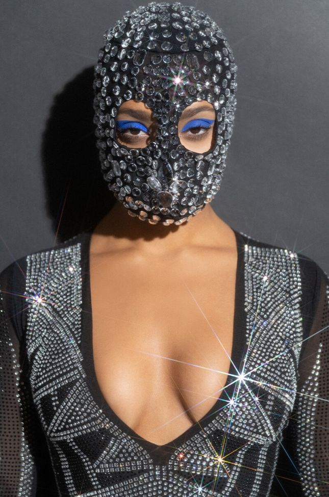 EXPRESS YOURSELF CRYSTAL FASHION MASK