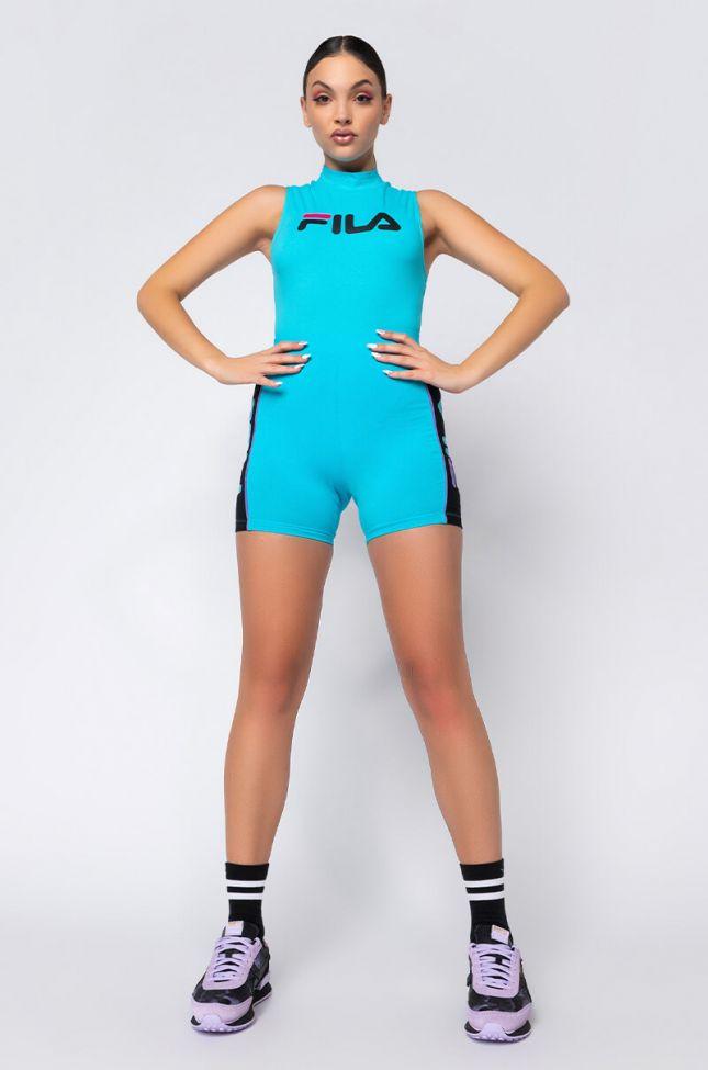 Fila Donata Bike Short in Blue