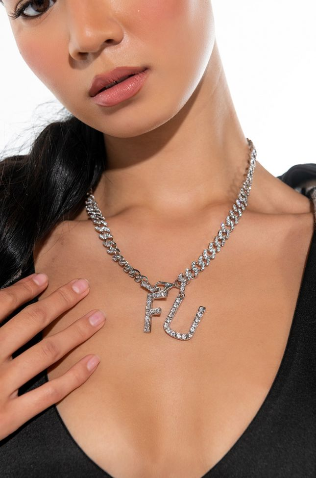 FU BLING NECKLACE