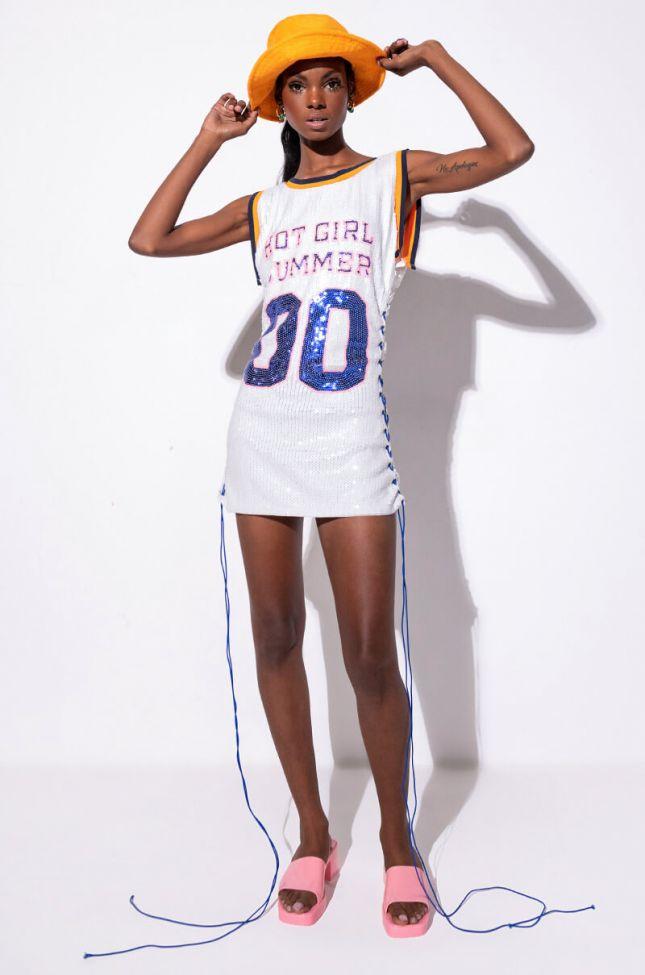 Extra View Hot Girl Summer Sequin Dress