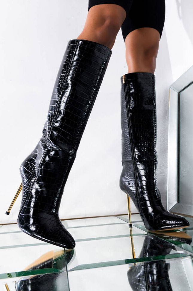 I JUST WANT A TASTE STILETTO BOOT
