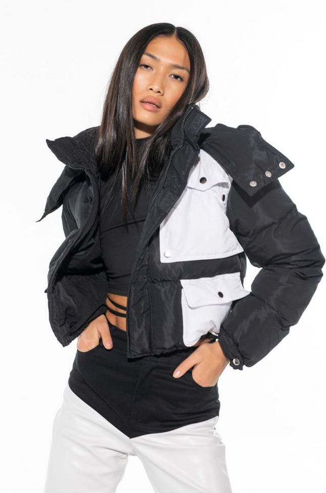 IN THE BAG UTILITY PUFFER JACKET