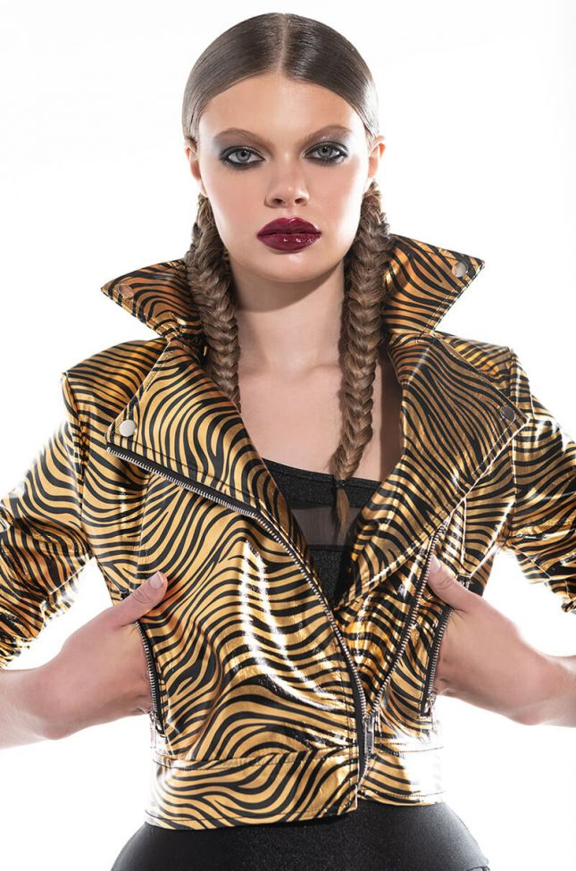 IN THE JUNGLE MOTO JACKET