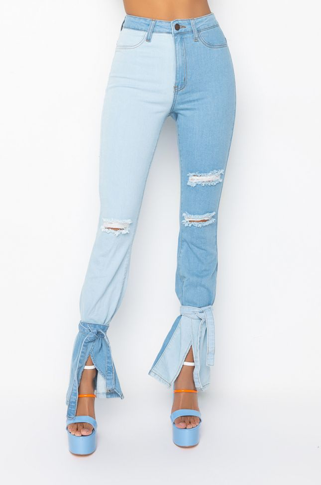Front View Ipanema High Rise Skinny Jeans