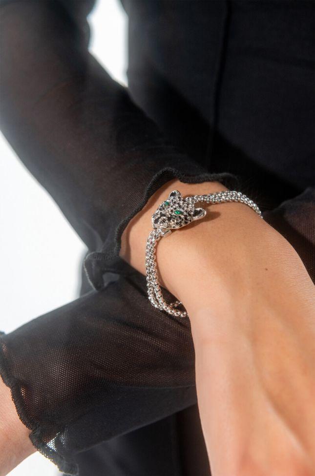 Front View Jaggy Link Bracelet