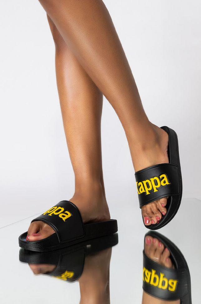 Front View Kappa 222 Banda Adam 16 Slide in Black