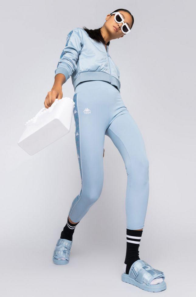 Kappa Womens 222 Bartes Legging in Blue