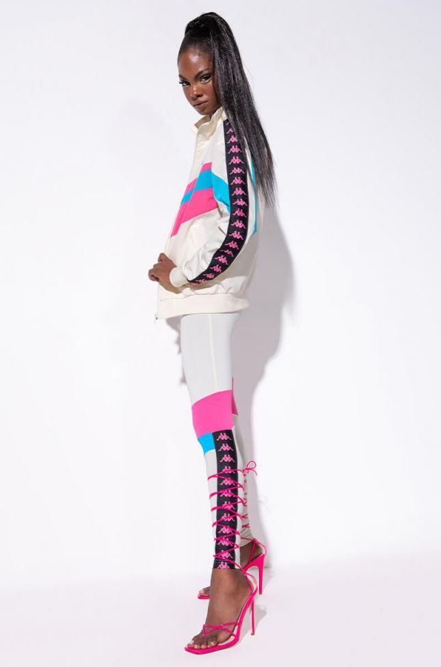 Kappa Womens 90s Beksi Legging in Natural White