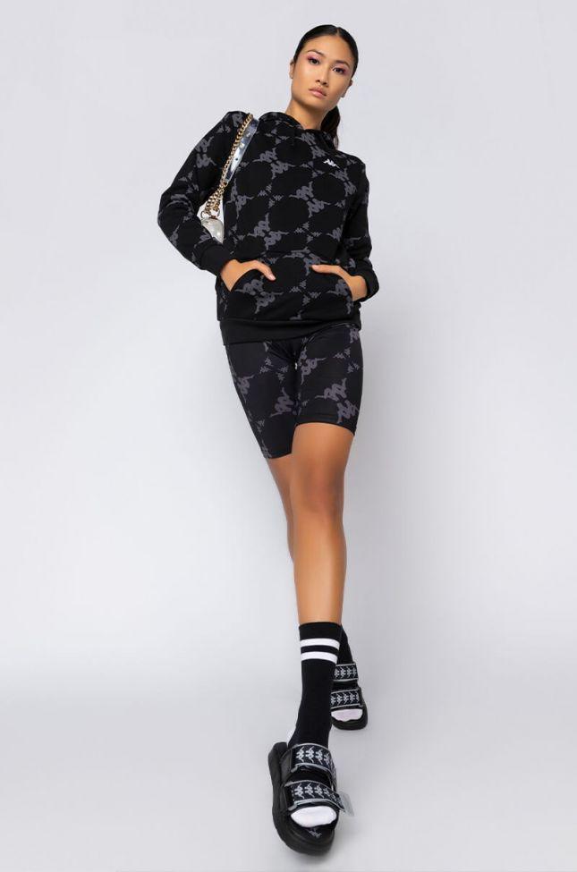 Kappa Womens Malin Biker Short in Black