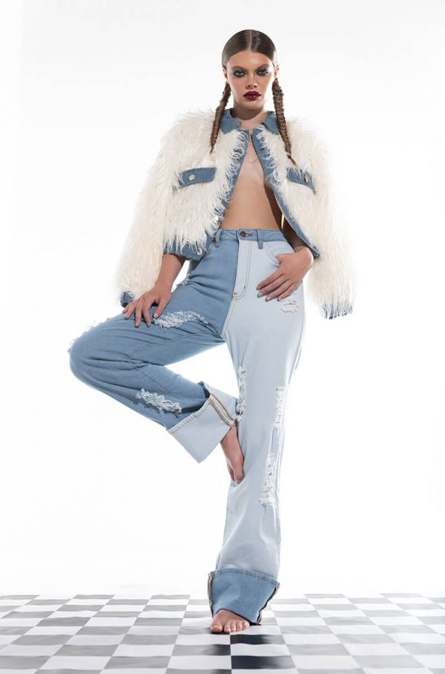 Extra View Leblon High Rise Relaxed Jeans