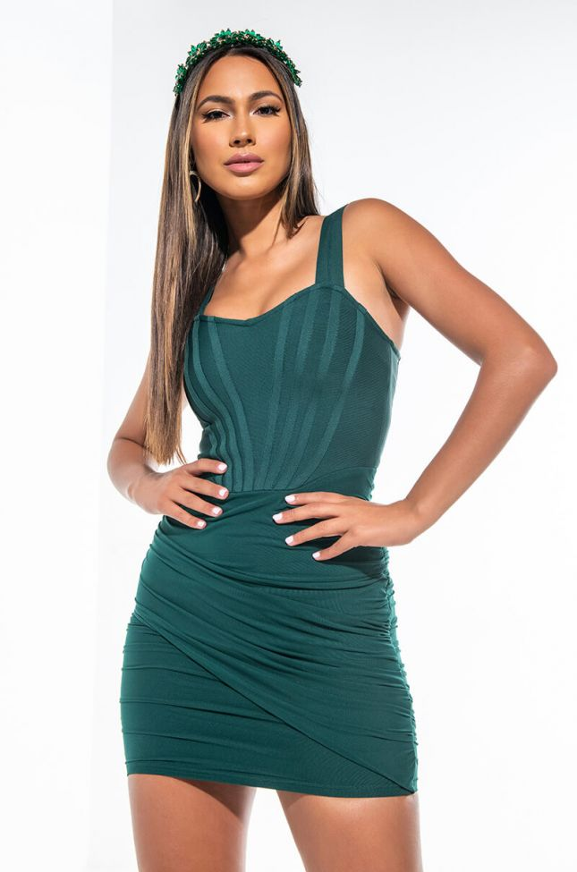 LEVEL UP QUEEN MINI DRESS WITH CORSET