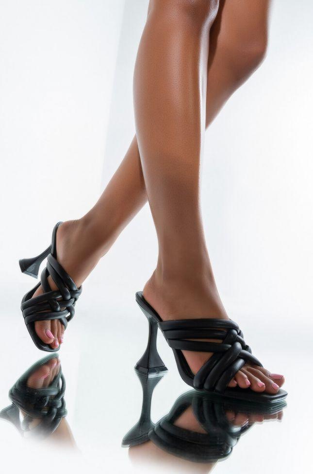 Front View Love Aint Easy Stiletto Sandal