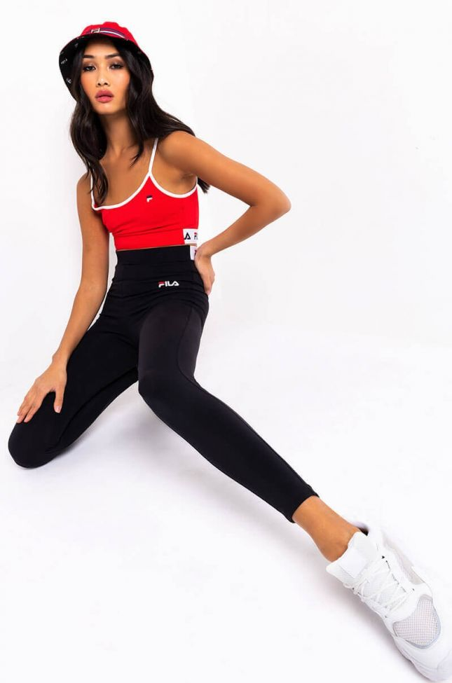 FILA WOMENS RATHI HIGH RISE LEGGING