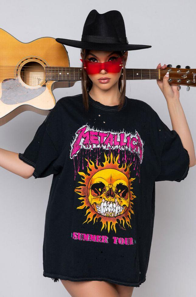 METALLICA T SHIRT DRESS