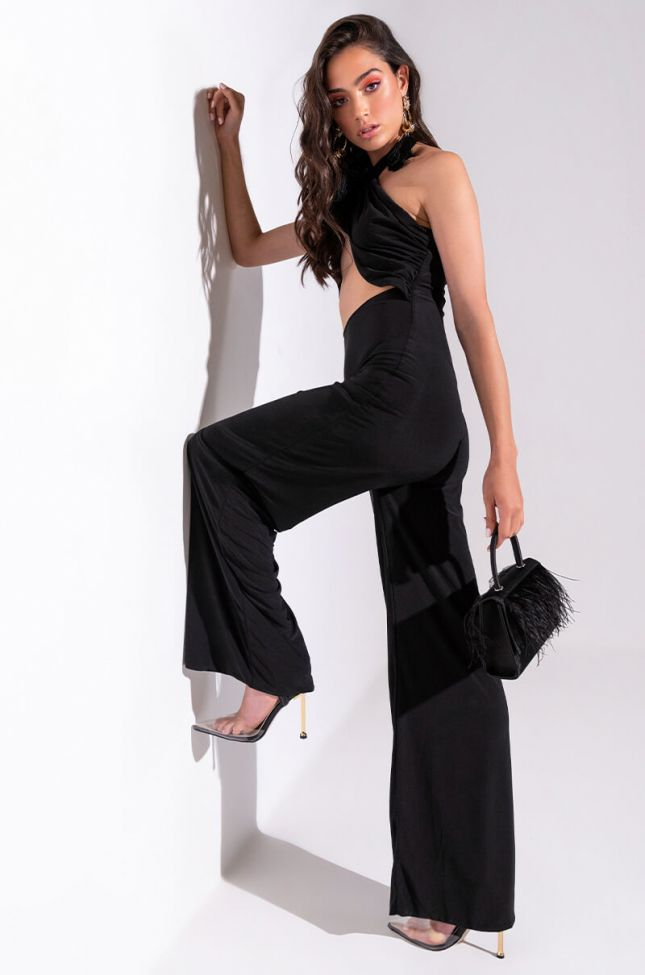 Front View My All Wide Leg Jumpsuit