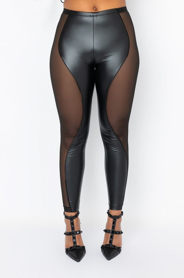 Front View Not Enough High Rise Legging