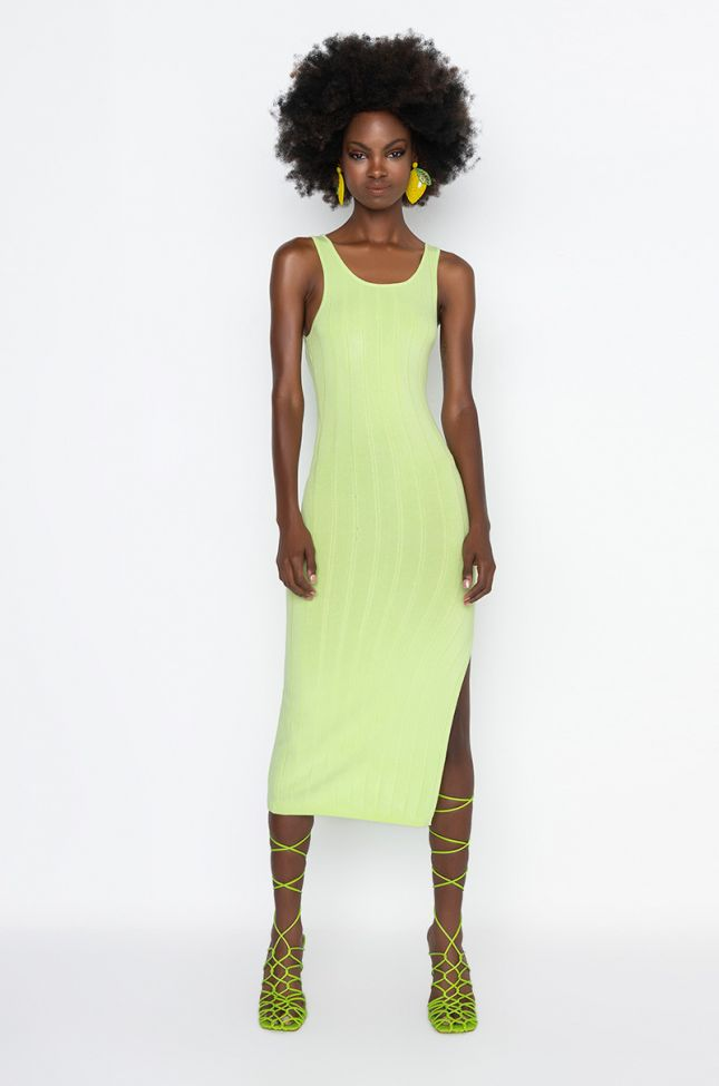 Side View Now Or Never Midi Tank Dress