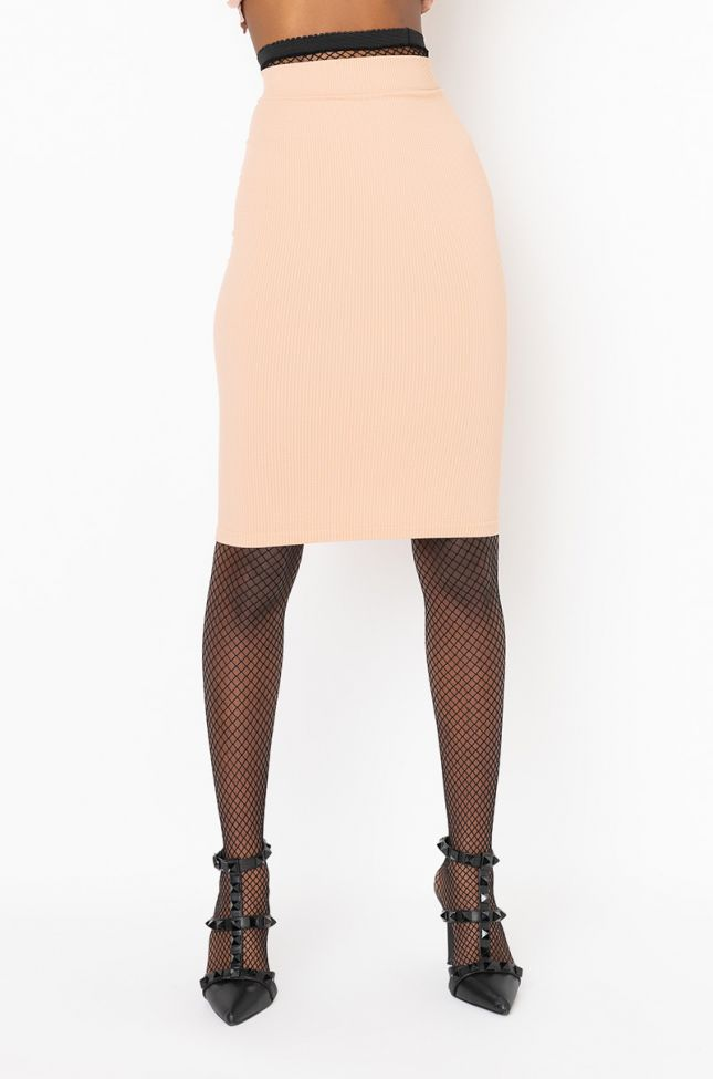 Front View Paxton Suck It Up Layering Essential Tube Dress in Beige