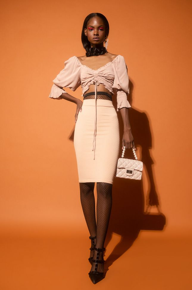 Paxton Suck It Up Layering Essential Tube Dress in Beige