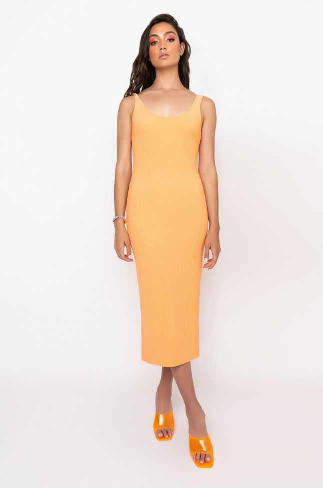 Side View Paxton Yes Girl Midi Dress