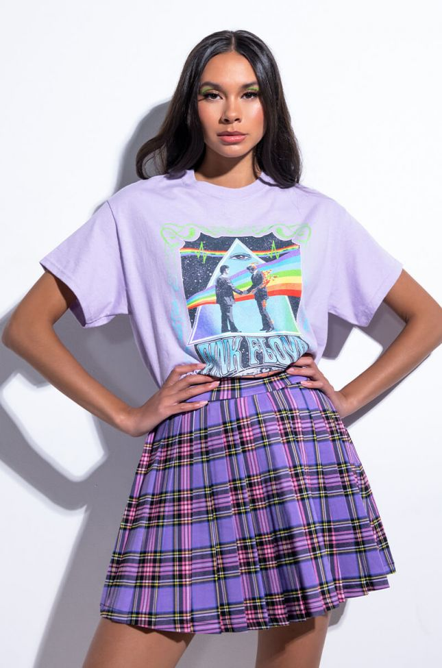 Side View Pink Floyd 1975 Graphic T Shirt