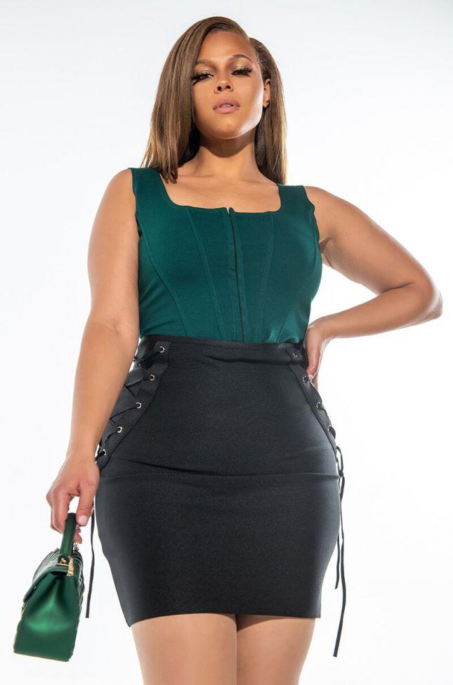 Full View Plus Do It To Ya Mini Skirt