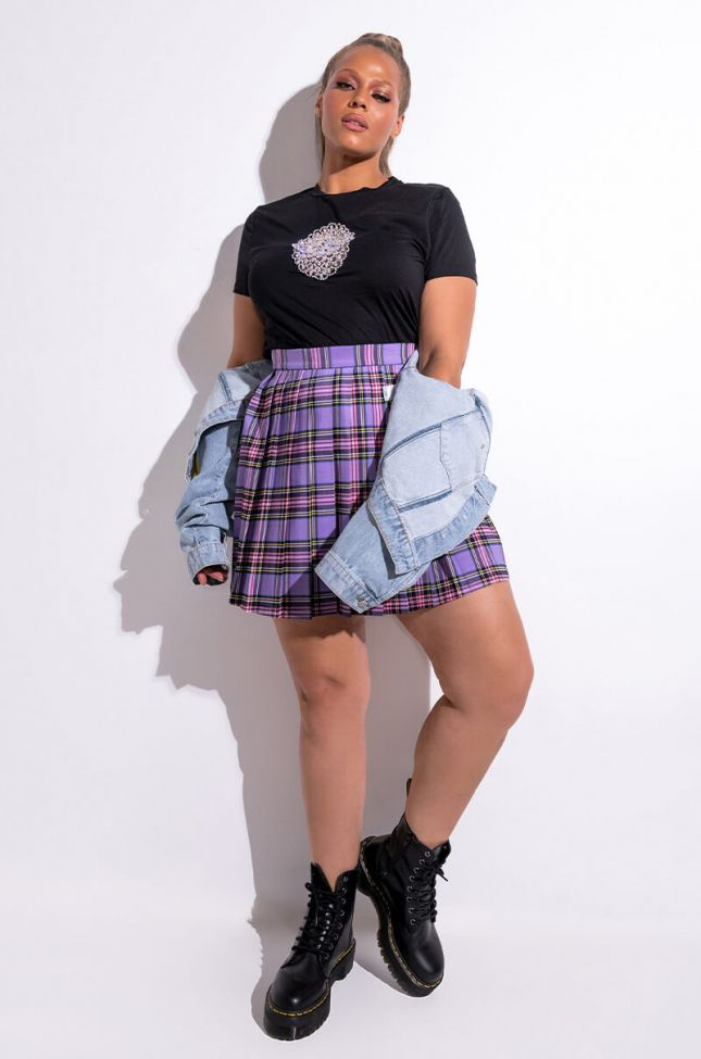Extra View Plus Swoosh Pleated Skirt