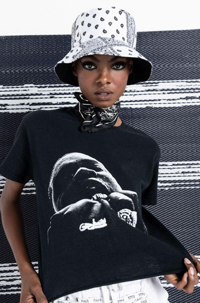 Front View Presi Plain Jane A$ap Ferg Tee in Black