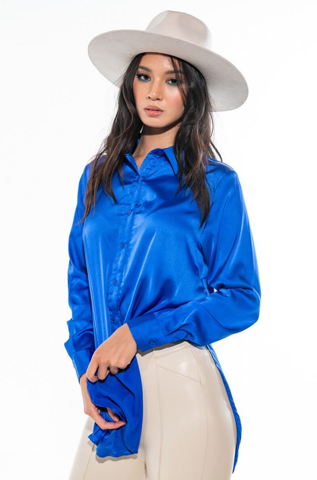 READY FOR ANY OCCASION SATIN SHIRT